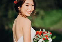 Romantic Bouquet & Crown by Liz Florals