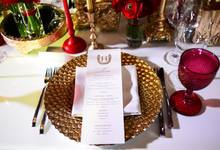 Red on winter. Y&M wedding by WeDoAgency