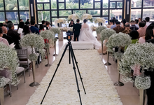 The wedding of Vione & Yorsa by Bali Eve Wedding & Event Planner