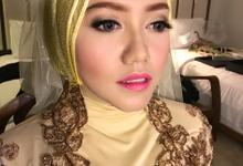 Makeup for lamaran (ima) by ashrinameilani makeup artist