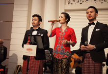 The modern Betawi wedding of Kinenta & Viena by AnastasiA Project