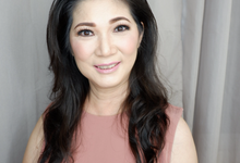 Mrs. Lan Hwu's as a mama bride by Isabellejongmua