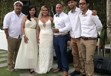 The Star Band for Raymond & Rebecca wedding by BALI LIVE ENTERTAINMENT