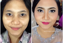 Before and After Makeup by sarsinagamakeup by sarisinagamakeup