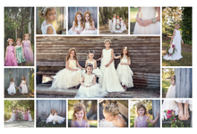 Flower girl designs  by Vintage Sistas Designs