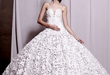 Couture Wedding Dress  by Crystal Clarissa