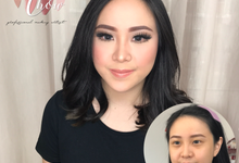 Bride Makeup by ivenamakeup