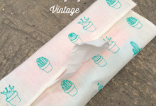 Cover tisue travelling Vintage  by Packy Bag Vintage