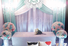 Promotion backdrop by love art design