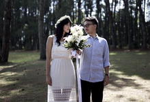 Pre-Wedding Reihan & Kisa by Benangsari Flower Studio
