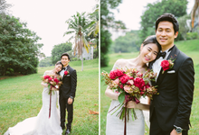 Cullen & Shaina by Dollei Seah by MAKEUP ENTOURAGE