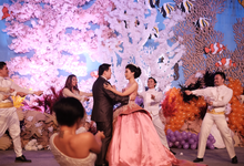 Wedding Dance Moment with Salsa Dancers by onFrame Dance Management