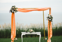 A gorgeous cliff-top wedding by Bali Diva Event Management
