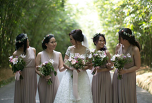 ANDRE & SHIEREN • Romantic & Sweet  by MALVA Bridesmaids