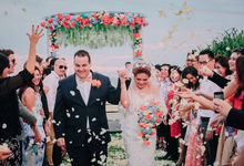 The Wedding of Mel & Nick by Bali Eve Wedding & Event Planner
