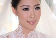 Ria wedding makeup by Amanda Makeup Artist
