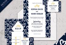 Wedding Invitations by House Of Preston