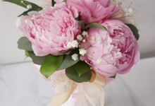 The blush of peonies  by Royal Petals