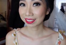 Leony's Wedding by Theiya Makeup Artistry