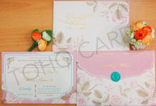 Elizabeth & William Engagement Invitation by Toho Cards