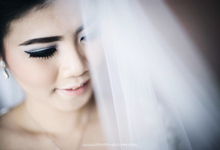 Wedding of Andi Sujono and Vela by VIDI Airbrush Wedding make up Artist
