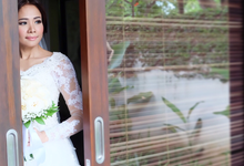 Wedding of Rika and Roberto by sherlyamakeup
