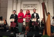 The modern Betawi wedding of Kinenta & Viena by AnastasiA Project
