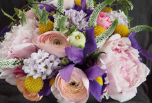 Evan and Aster Wedding by Fleurioni Flowers