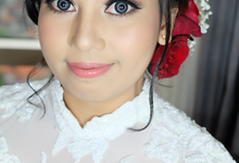 Wedding of Tasya by deZee Makeup and Wedding service
