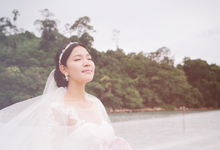 Langkawi engagement portrait by white