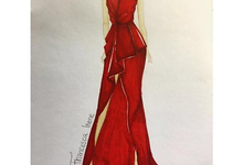 Sketches by Francesca Couture