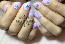 Japanese style nails  by nails by Caryn