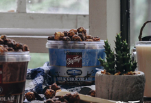 Chef Tony's Gourmet Popcorn in parties by Popsocial Asia