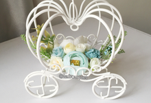 Cinderella ring bearer by Le Fleur Bouquet