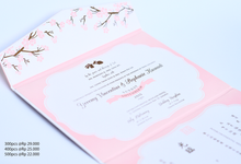 Floral Invitation Design by Memoir Paperie