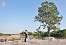 Story of prewedding : Rolis & Devi by glamour photography