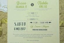 BRIAN & NABILA by Galeri Vinni