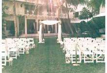 Cream and Gold Halekulani Wedding by Bella Amour Events Hawaii