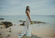 Potrait of Bride by MAJAartisan