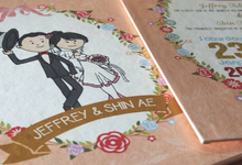 Jeffrey & Shin Ae by Toho Cards