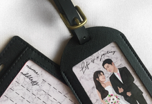 Poptraits Souvenirs - Personalized Leather Goods by Poptraits by Stella