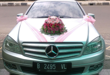 Michael Wedding Car - Contoh Bunga Tampak Depan by Michael Wedding Car