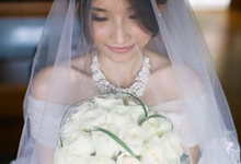 The Wedding of Feng Yichi & Zhao Cijing by Ricky Make Up Artist