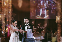 Ekta & Jinesh's Indian wedding celebrations by Butter Bali