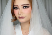Make up for ms. Citra by sherlychairy.mua