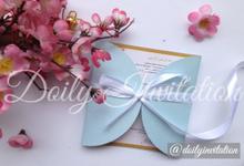 Ribbon Model by Doily Invitation