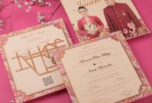 Putri & Imam's Wedding Invitation by Hiraloka