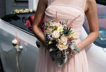 Rustic Bridal Bouquet by Liz Florals