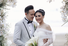 Richie and Amanda in Bali by Rufous Events