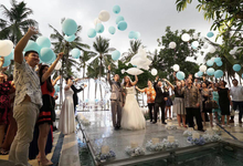 helium balloons by Peony Garden Bali